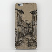 Old Village Alley iPhone & iPod Skin