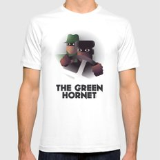 Cassandre Spirit - The green hornet White Mens Fitted Tee SMALL