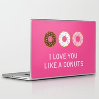 food Laptop & iPad Skins featuring food by mark ashkenazi