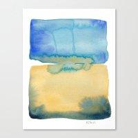 Color Field No. 2 Canvas Print