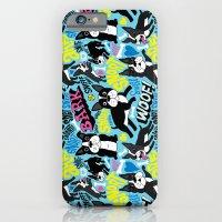 Boston Terrier Pattern iPhone 6 Slim Case