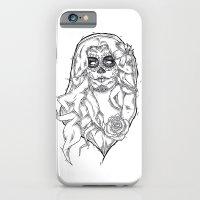 iPhone & iPod Case featuring Dia de los Muertos by David Huckert