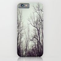 Tree branches in the sky iPhone 6 Slim Case