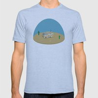 Breaking Bad RV | isometric Mens Fitted Tee Athletic Blue SMALL