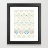 Muted Mellow Framed Art Print