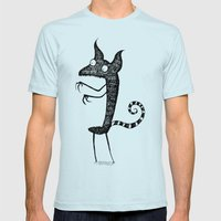 Lindsey's Monster Mens Fitted Tee Light Blue SMALL