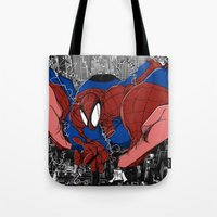 Spidey and the City Tote Bag