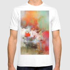 Petite fleur Mens Fitted Tee White SMALL