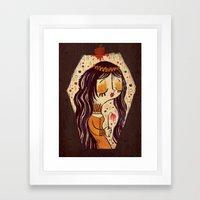 Snow White Framed Art Print