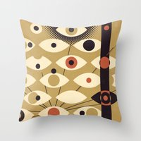 Divisions - Part II Throw Pillow