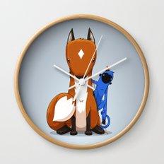 Hungry & Foolish Wall Clock