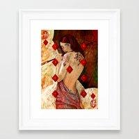 Framed Art Print featuring Lucky Number 9 by Stephan Parylak