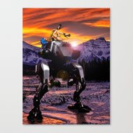 Spring Break On The Ice … Canvas Print