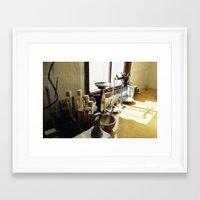 Craftwork Brewery, Oamaru, NZ Framed Art Print