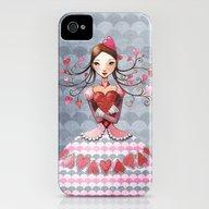 Queenofhearts II. iPhone (4, 4s) Slim Case