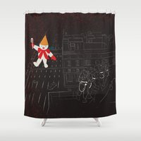 Who Ya Gonna Call? Shower Curtain