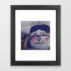 Making Rainbows Framed Art Print