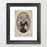 Miss Derringer Framed Art Print