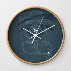 BLADE RUNNER (Voight Kampf Test Version) Wall Clock