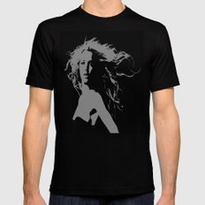 Pretty Britney Mens Fitted Tee Black SMALL