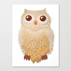 Owl Collage #5 Canvas Print