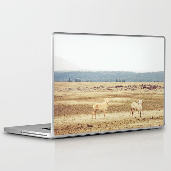 Two Oregon Horses Laptop & iPad Skin