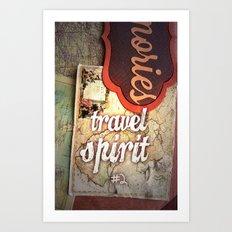 Travel Spirit #2 Art Print