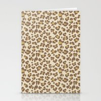 Baby leopard Stationery Cards