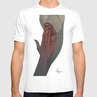 APERITIF I Mens Fitted Tee White SMALL
