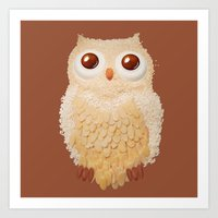 Owlmond 1 Art Print