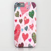 iPhone & iPod Case featuring Candy Hearts by Art Tree Designs