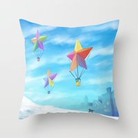 Star Travellers Throw Pillow