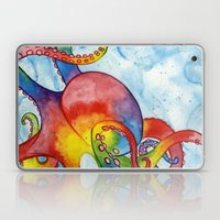 Rainbow Octopus Laptop & iPad Skin