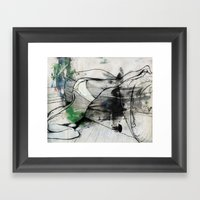 When I Last Spoke To Ale… Framed Art Print