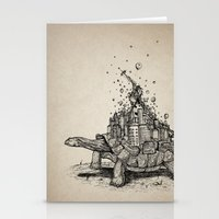 Tortoise Town Stationery Cards