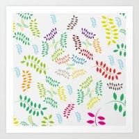 ORGANIC & NATURE (COLORS… Art Print