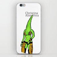 Christina Aloe Vera iPhone & iPod Skin