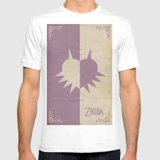 Majoras Mask Mens Fitted Tee White SMALL