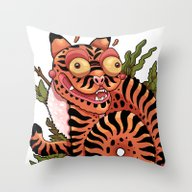 Minhwa Throw Pillow