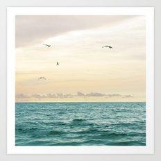 Seascape No. 3 Art Print