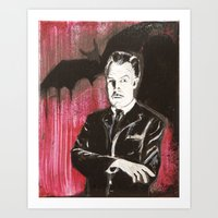 Vincent Price The Bat Art Print