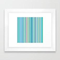 STRIPES15 Framed Art Print