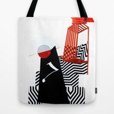 collage love :Monk Tote Bag