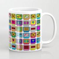 8-bit Game Cartridges Mug