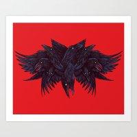 Crowberus Art Print