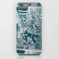 iPhone & iPod Case featuring ELECTRIC TIGER SKULL! by Gimetzco's Damaged Goods