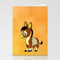 Childhood Donkey Stationery Cards