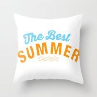 The Best Summer Throw Pillow