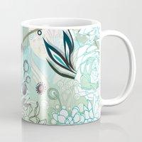Floral Collage Mug
