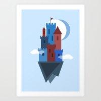 Sky Castle Art Print